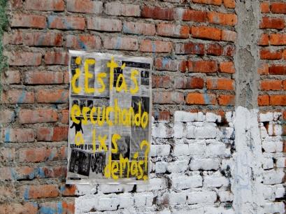 Preguntas para la Escucha - Querétaro, México - Cartel - 1
