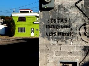 Preguntas para la Escucha - Querétaro, México - Graffiti - 1