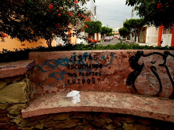 Preguntas para la Escucha - Querétaro, México - Graffiti - 2