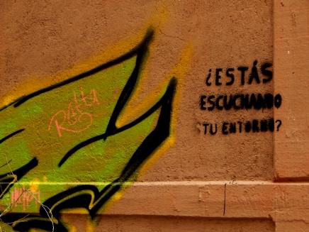 Preguntas para la Escucha - Querétaro, México - Graffiti - 3