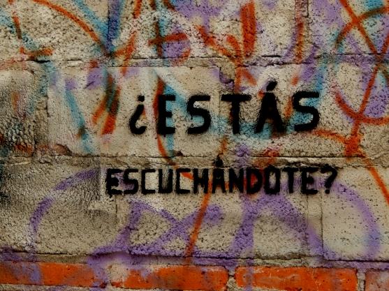 Preguntas para la Escucha - Querétaro, México - Graffiti - 4