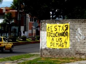 Preguntas para la Escucha - Querétaro, México - Manta - 3