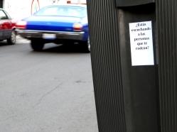 Preguntas para la Escucha - Querétaro, México - Sticker - 5